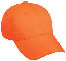 SOLID BLAZE/SAFTEY ORANGE 1 Lot(10) Deer/Elk/Antelope/Hog Hunting Hat/Cap FAST
