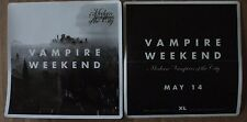 Vampire Weekend - Modern Vampires of the City promo sticker