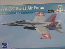 F/A 18 Swiss Air Force Jet - Italeri Bausatz 1:72 - 1385 #E