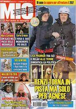 Mio 2017 1#Matteo Renzi,George Michael,Martina Stella,Miriam Leone,Carlo Cracco