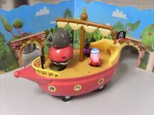 PEPPA PIG GRANDDAD DOGS PIRATE BOAT con figuras