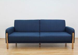 John Lewis & Partners Show Wood Sofa Bed, Light Leg, Topaz Navy