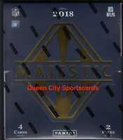 2018 Panini Majestic Football Factory Sealed Hobby Box