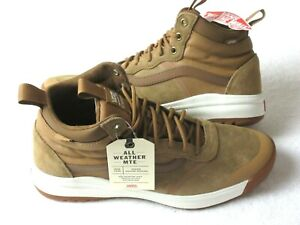 Vans Womens UltraRange Hi DI MTE Boots Chipmunk Brown Marshmallow Size 9 NWT