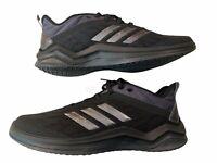 adidas Originals Men's Speed Trainer 4 Baseball Shoes Black Size 9 2E Wide New