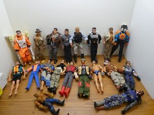 Job Lot of Action MAN Figurines and attachment clothes boots weapons