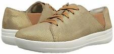 FitFlop Women's F-Sporty Lace-up Houndstooth Print Fashion Sneaker 8.5 NEW