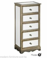 Bedroom Antique Style Unbranded 5 Chests of Drawers