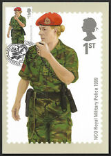 GB 2007 Military Uniforms stamp PHQ postcards stamps on front First Day of Issue
