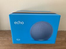 Sealed Echo 4th generation | With premium sound smart home hub & Alexa Twilight,
