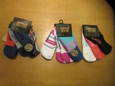 Converse All Star Kids Girls No Show Socks 3Y-5Y ~~9 Pairs~~