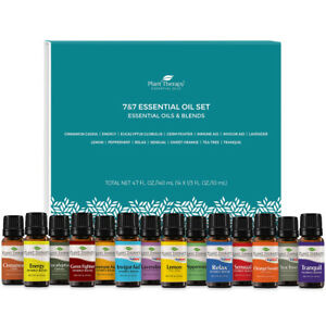 Plant Therapy Essential Oils 7 & 7 Set - 7 Single Oils & 7 Blends