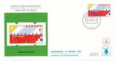 Philato FDC W87A - Kerkdriel - Blanco / Open klep