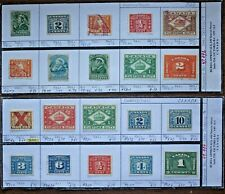 CANADA Tax Stamps - Interesting Lot of 20 Stamps (Lot #13)