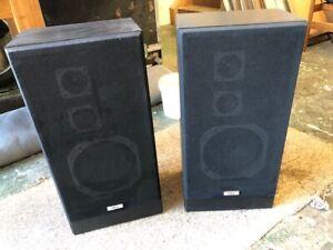 Vintage NEC S217E - 3 Way 50 watt Speakers - Spares or Repairs - Prop