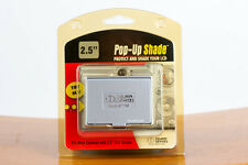 Delkin Devices Silver Universal Pop-Up Shade for 2.5 inch LCD Screens - New