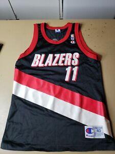 VTG Champion Men's Size 40 Arvydas Sabonis Jersey NBA TrailBlazers Portland