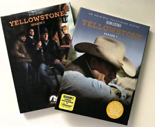 Yellowstone Complete Seasons 1 & 2 (DVD, 8-Disc Set) w/ Slip Covers *BRAND NEW*