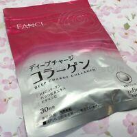 Fancl Deep Charge Collagen 30 days HTC collagen tablets Japan