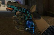 Titan Holo Sticker On CSGO P250 Skin Undertow Counter-Strike Not Knife Gloves