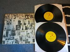 "The Rolling Stones - Exile On Main St - 2x12""lp 1972 A2/b2/c2/d2 Vgc/ex.con"