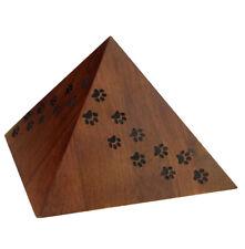 Unique Pyramid Cremation Urn for Pet ashes Peaceful Memorial Keepsake Dog Urn
