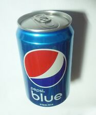 PEPSI BLUE can INDONESIA Blue Colour Collectors Asia NEW Can 330ml Collect Asia