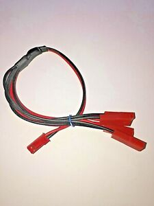 Traxxas VXLJST splitter Y connector harness. One male to 4 female JST plugs 1M4F