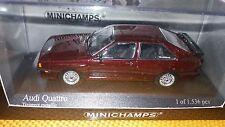 Minichamps 1/43 Audi Quattro 1981 red metallic