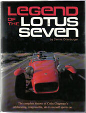 Legend of the Lotus Seven by Ortenburger Series 1 2 3 4 Caterham Colin Chapman +