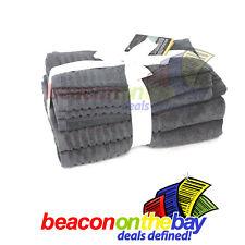 7 Piece Grey 100% Pure Indian Cotton Large Bath Towel Set Gift Set Indus Sands