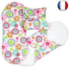 ImseVimse Lot de 3 serviettes hygiéniques lavables en coton Panty (Panty Liner)