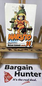 Naruto, Volume #14 by Masashi Kishimoto Shonen Jump Manga Graphic Novel