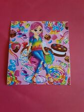 "Lisa Frank dessert girl sticker 2""x 2""(free ship $20 min)"