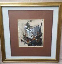 Oil Framed Maritime Art Paintings