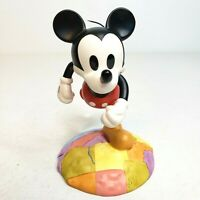 NEW Disney Millennium Mickey Mouse Figurine On Top of the World Genuine In Box
