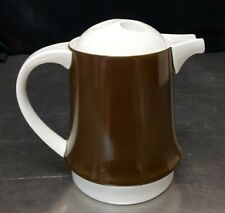 RARE 4-cup COFFEE POT Miropa Suisse Langenthal Aristo Braun Classic Brown 309010