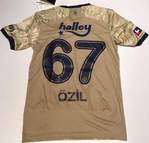 Fenerbahce Away Gold Jersey 2020/21 adidas Ozil # 67 NWT S-M-L-XL