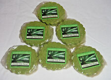 Yankee Candle Under the Palms green lot 6 wax potpourri tart new