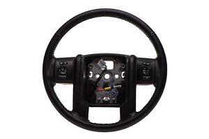 2013-2016 Ford F250 F350 Super Duty Black Leather Steering Wheel OEM DC3Z3600CA