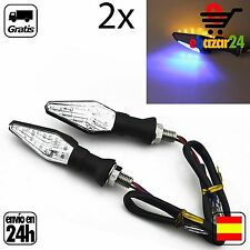 2x Intermitentes para moto diseño doble iluminacion LED motocicleta  *Envío GRAT