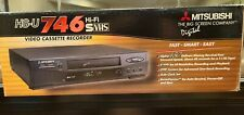 Mitsubishi Hs-U 746 Hi-Fi S-Vhs Player Vcr New In Box Complete! Rare!