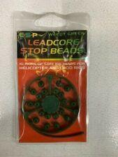Esp Leadcore Stop Beads weedy green