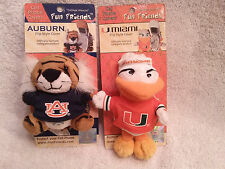 Fun Friend Flip Cell Phone Case Keychain Auburn Tiger or Miami Hurrica