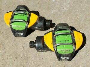 Time Peak Carbon Clipless Mountain Bike Pedals w/ Time Sierra TMT Shoes sz 43