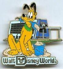 Disney Pin: Retro Walt Disney World Resort Collection Contemporary Resort Pluto