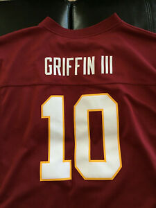 ROBERT GRIFFIN III RG3 Redskins #10 Jersey NFL Players Youth XL 18/20 Used