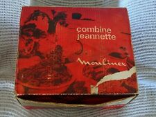 Robot Vintage  Moulnex Jeannette red box