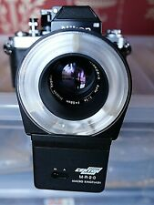 CAMERA TESTED CENTON MR20 MACRO RING FLASH FOR 52MM & 49MM FILTER SIZE LENSES