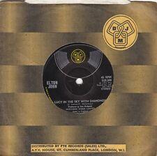 "ELTON JOHN..LUCY IN THE SKY WITH DIAMONDS..EXCELLENT 1974 DJM POP / GLAM ROCK 7"""